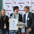 """Preisverleihung """"Internationaler Kongress Erleben und Lernen 2018 - Einmischen possible"""" in der Kategorie """"Persönlichkeit"""""""